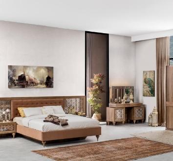 Şık, kaliteli, ferah konsept tasarımlarıyla yuvanızın sıcaklığını ön planda tutarak yatak odalarınız için fark yaratıyor.